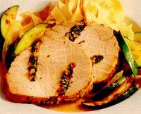 Muschi de porc cu pesto