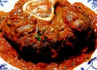 Osso bucco milanesse