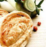 Ruladă cu praz şi brânză