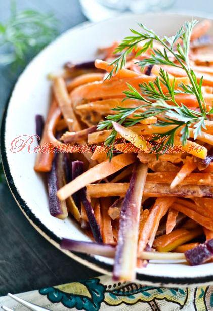 Reteta zilei: Salata de morcovi salbatici