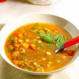 Supă cu orez