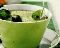 Supă de busuioc şi broccoli