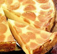 Tartă cu brânză şi mandarine