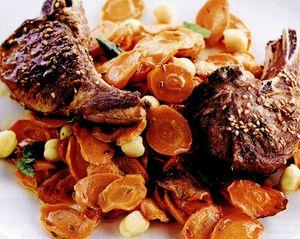 Cotlete de miel cu morcovi