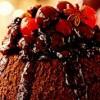 Desert_de_ciocoala_cu_sirop_picant_de_fructe_de_padure
