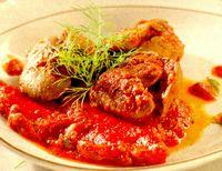 Mâncărică de ardei cu ficat de pui