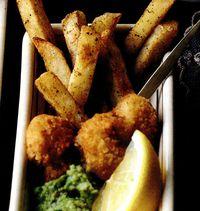 Mini crevete cu cartofi