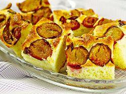Prăjitura fantezie cu prune