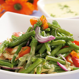 Salată de fasole verde