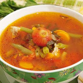 Supă de viţel cu fasole verde