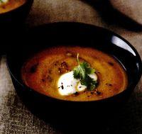 Supă de morcovi cu chimen şi coriandru