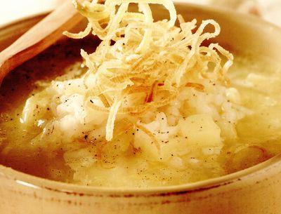 Supă de praz şi cartofi