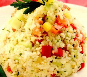 Tabuleh cu legume