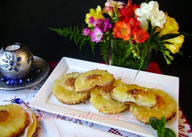 Reteta zilei: Tarte cu ananas