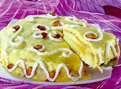 Reteta tort cu crema de zahar ars