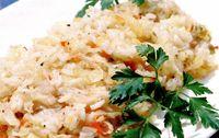 Retete de post: Varză călită cu orez