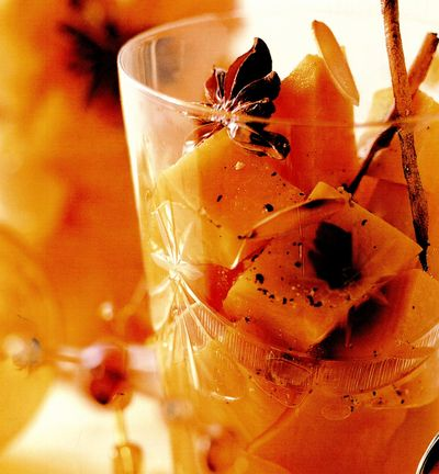 Compot de cartofi dulci cu sirop aromat