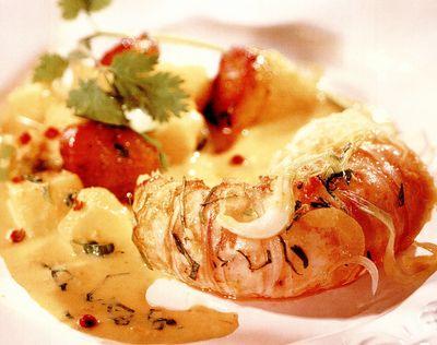 Curry de langusta