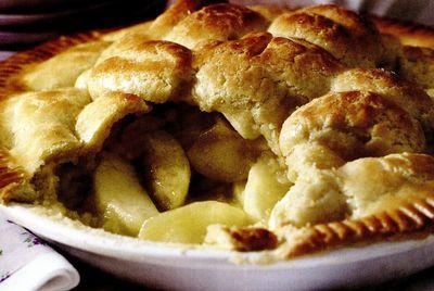 Plăcintă cu mere caramelizate