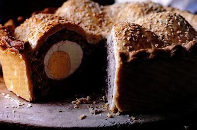 Plăcintă scoţiană cu ou