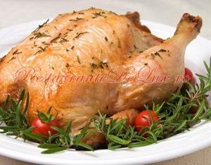 Zece retete cu pui pentru masa de Paşte