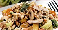 Rizoto cu pui si legume