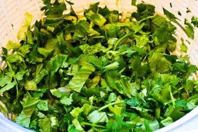 Reteta salata verde cu marar
