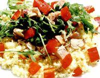 Salată de pui cu verdeţuri