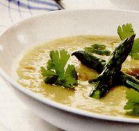 Supa rece de sparanghel