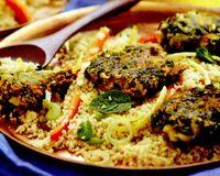 Falafel cu cuscus
