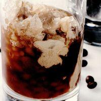 Granita de cafea şi vanilie