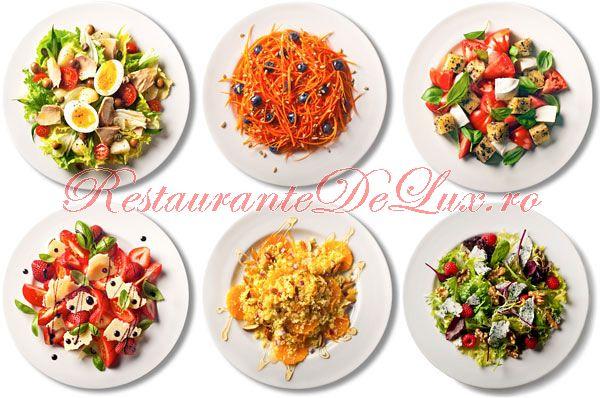Sase salate pentru masa de Pasti