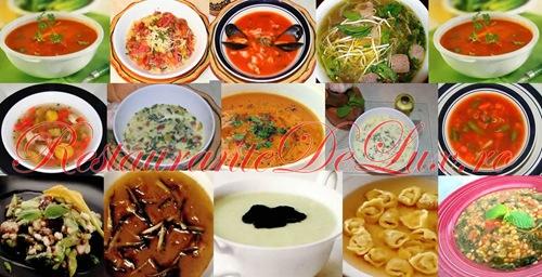 Borsuri si ciorbe pentru masa de Paşte
