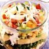 Salata_în_straturi_cu_ou_sunca_si_ananas