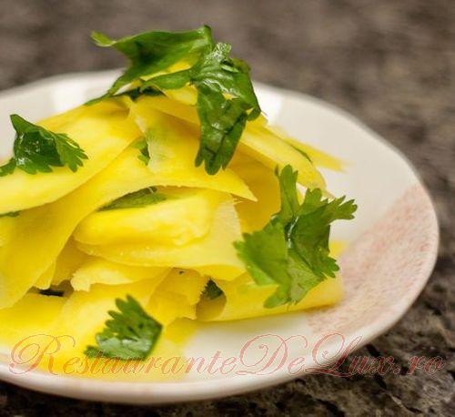 Reteta zilei: Salata de mango