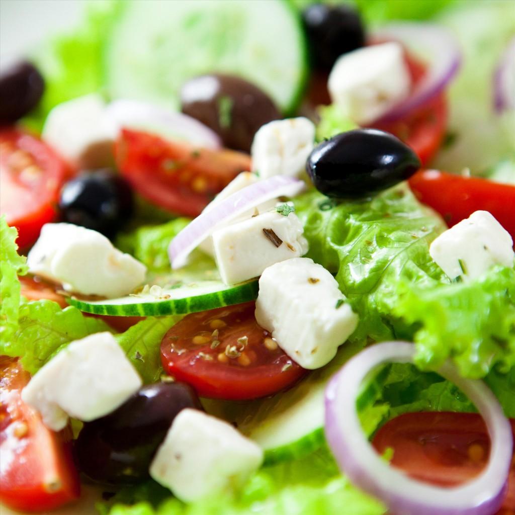 Retete internationale: Salată grecească