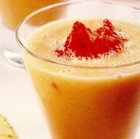 Smoothie de ananas şi papaya