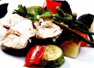 Chefal cu legume la cuptor
