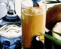 Cocktail Ice Cofee Caribbean