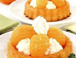 Minitarte cu mandarine