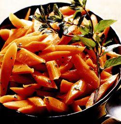 Morcovi cu glazură de portocale