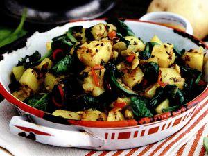 Salată condimentată de cartofi
