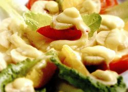 Salata cu sos de smantana