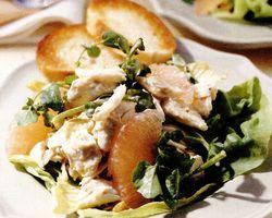 Salată de crab cu grepfrut