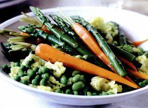 Salată de legume de primăvară
