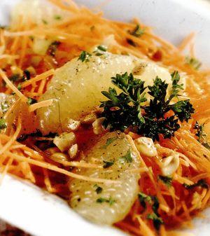 Salata de morcovi si grepfrut