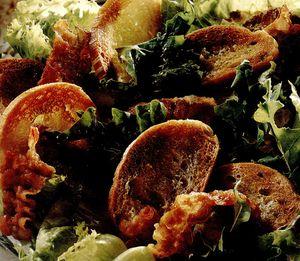 Salată mixtă cu pancetta