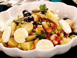 Salata orientala cu crenvursti
