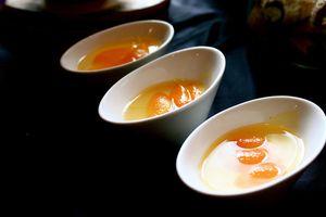 Sirop caramel cu portocale