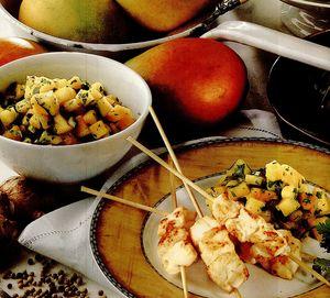 Sos Salsa de mango şi coriandru